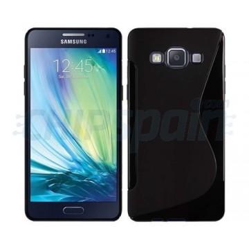 Capa de TPU S-Line Samsung Galaxy A3 (A300F) -Preto