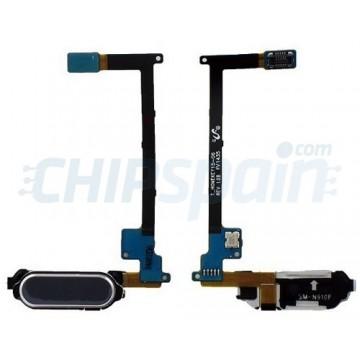 Botão Home Flex Samsung Galaxy Note 4 (N910F) -Preto