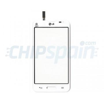 Vidro Digitalizador Táctil LG L80 (D373) -Branco