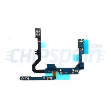 Flex Botón Volumen y Microfóno Samsung Galaxy A5 (A500F)