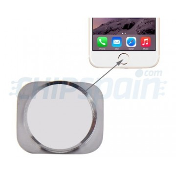 Home Button iPhone 6 -White/Silver