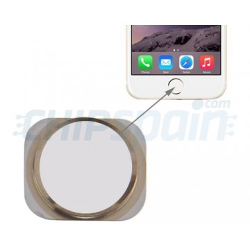 Home Button iPhone 6 -White/Gold