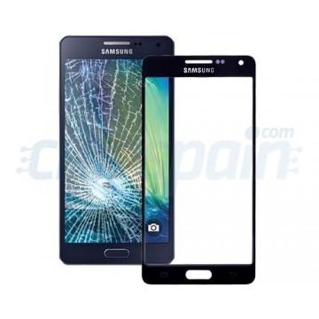 Cristal Exterior Samsung Galaxy A5 (A500F) -Negro