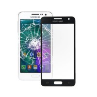 Exterior Glass Samsung Galaxy A3 (A300F) -Black