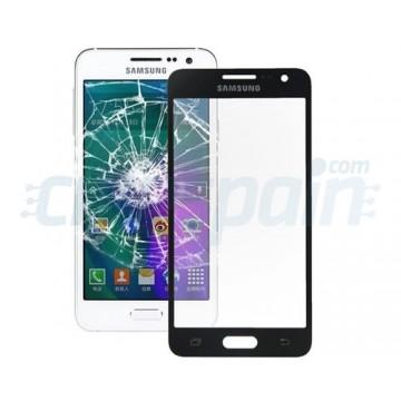 Cristal Exterior Samsung Galaxy A3 (A300F) -Negro
