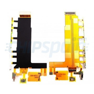 Flex Botones Laterales, Vibrador y Microfono Sony Xperia Z3