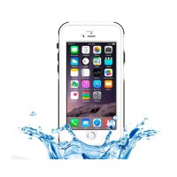 Funda Waterproof Touch ID iPhone 6 -Blanco