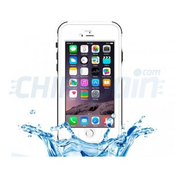 Funda Waterproof Touch ID iPhone 6 iPhone 6S Blanco