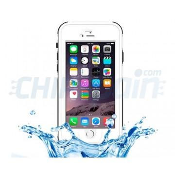 Waterproof Case Toque ID iPhone 6 iPhone 6S Branco