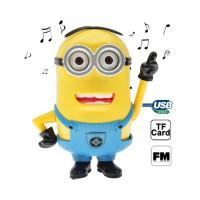 Altavoz Minion Mp3/USB/Jack/Micro SD con Radio