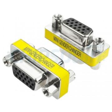 Adapter VGA 15pin Female to VGA Female
