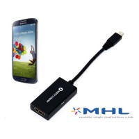 Adaptador HDTV Micro USB a HDMI Samsung Galaxy SIII/S4/Note 2/Note 3