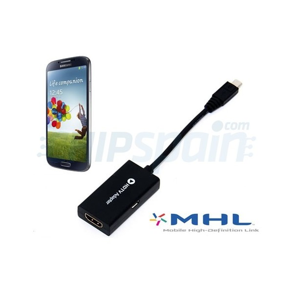 HDTV Adapter Micro USB To HDMI Samsung Galaxy SIII S4 Note