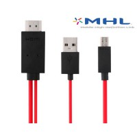 MHL cabo Micro USB para HDMI 2m Samsung Galaxy SIII/S4/Note 2/Note 3