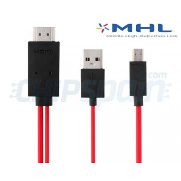 MHL Cable Micro USB to HDMI 2m Samsung Galaxy SIII/S4/Note 2/Note 3