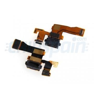 Conector Micro USB carga Flex e Microfone Nokia Lumia 1020