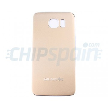 Metal da bateria tampa traseira Samsung Galaxy S6 (G920F) -Ouro