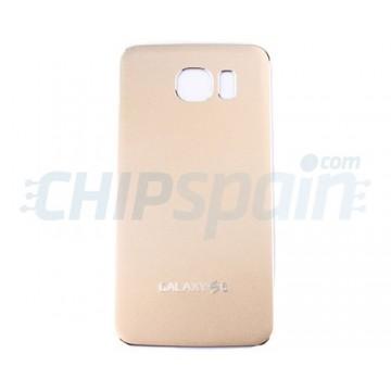 Tapa Trasera Metal Batería Samsung Galaxy S6 (G920F) -Oro