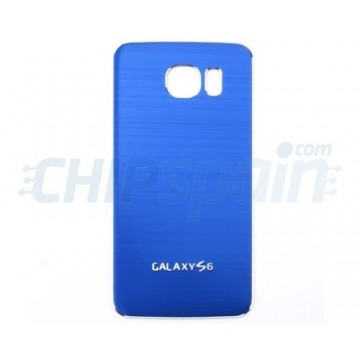 Metal da bateria tampa traseira Samsung Galaxy S6 (G920F) -Azul