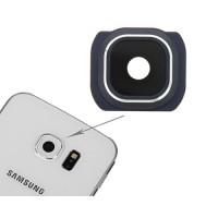Guarnição Câmera Traseira Samsung Galaxy S6 (G920F) -Azul