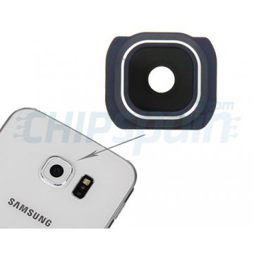 Embellecedor Cámara Trasera Samsung Galaxy S6 (G920F) -Azul