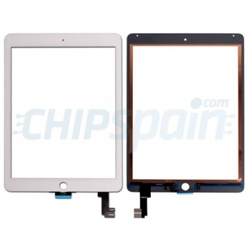 Vidro Digitalizador Táctil iPad Air 2 -Branco