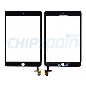 Vidro Digitalizador Táctil iPad Mini 3 con IC -Preto