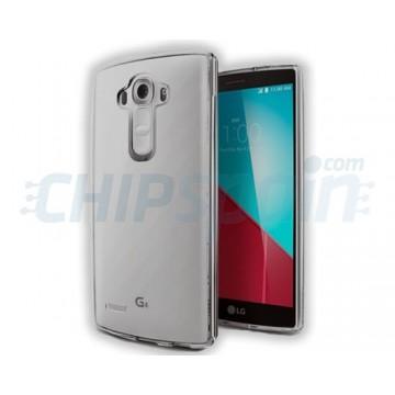 Capa de TPU LG G4 (H815) -Gris Transparente