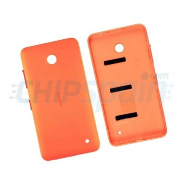 Carcasa Trasera Nokia Lumia 630/635 Naranja