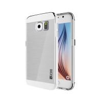 Funda de TPU Slicoo Samsung Galaxy S6 (G920F) -Transparente/Plata