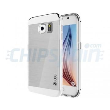 TPU Case Slicoo Samsung Galaxy S6 (G920F) -Transparent/Silver