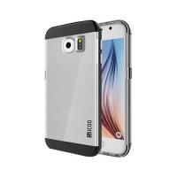 Funda de TPU Slicoo Samsung Galaxy S6 (G920F) -Transparente/Negro