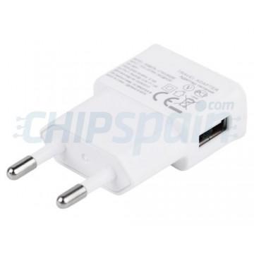 Adaptador de Alimentação USB 1A -Branco