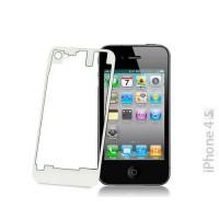 Vidro e traseira iPhone 4S -Transparente/Branco