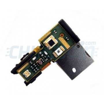 Flex On/Off con Conector Auriculares Sony Xperia S/Arc HD (LT26i)