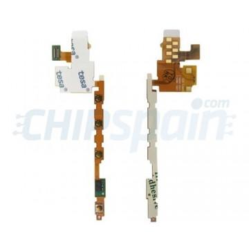 Flex Botones Laterales Volumen, Encendido y Cámara Sony Xperia P (LT22i)