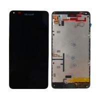 Tela Cheia com Moldura Nokia Lumia 640 -Preto