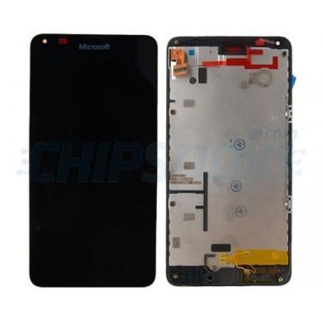 Pantalla Completa con Marco Microsoft Lumia 640 - Negro