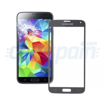 Cristal Exterior Samsung Galaxy S5 (G900F) -Gris