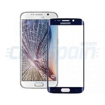Cristal Exterior Samsung Galaxy S6 Edge (G925F) -Azul