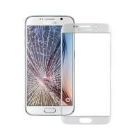 Cristal Exterior Samsung Galaxy S6 Edge (G925F) -Blanco