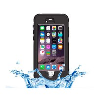 Funda Waterproof Touch ID iPhone 6 -Negro