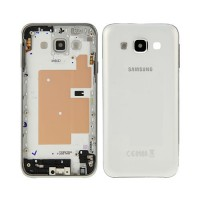 Carcasa Trasera Samsung Galaxy E5 (E500F) -Blanco