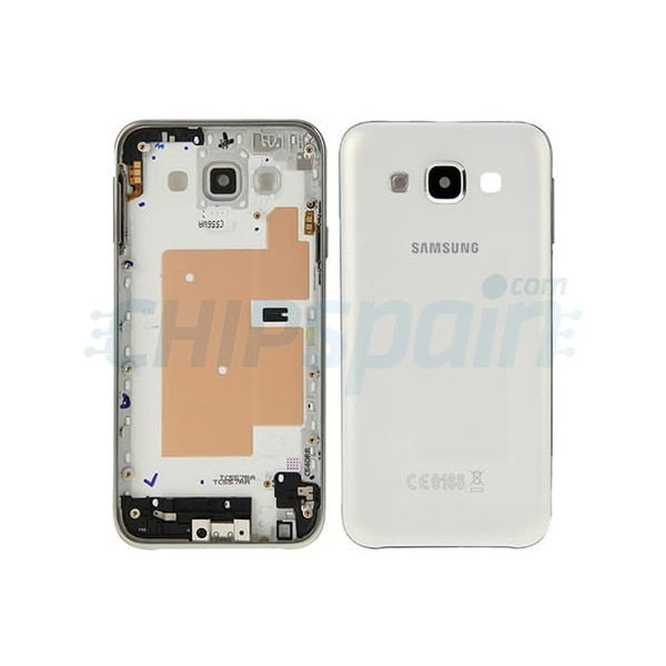 e6fcae7a2ad Carcasa Trasera Samsung Galaxy E5 (E500F) -Blanco - ChipSpain.com