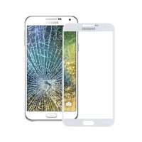 Exterior Glass Samsung Galaxy E5 (E500F) -White