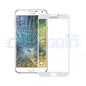 Exterior Glass Samsung Galaxy E5 (E500F) -White