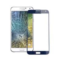 Cristal Exterior Samsung Galaxy E5 (E500F) -Azul Oscuro