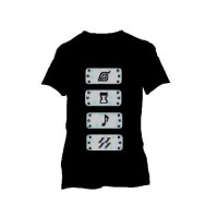 Naruto: Camiseta Bandanas (7/8)