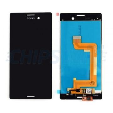 Ecrã Tátil Completo Sony Xperia M4 Aqua (E2303) -Preto