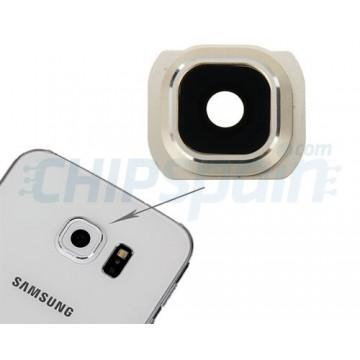 Embellecedor Cámara Trasera Samsung Galaxy S6 (G920F) -Oro